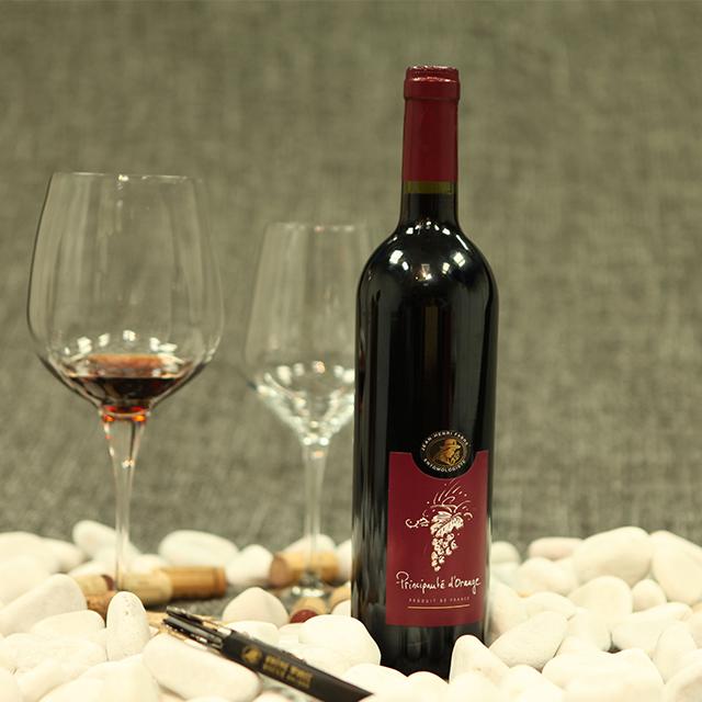 法國羅納紅·橙士王子干紅葡萄酒Principauté d'orange