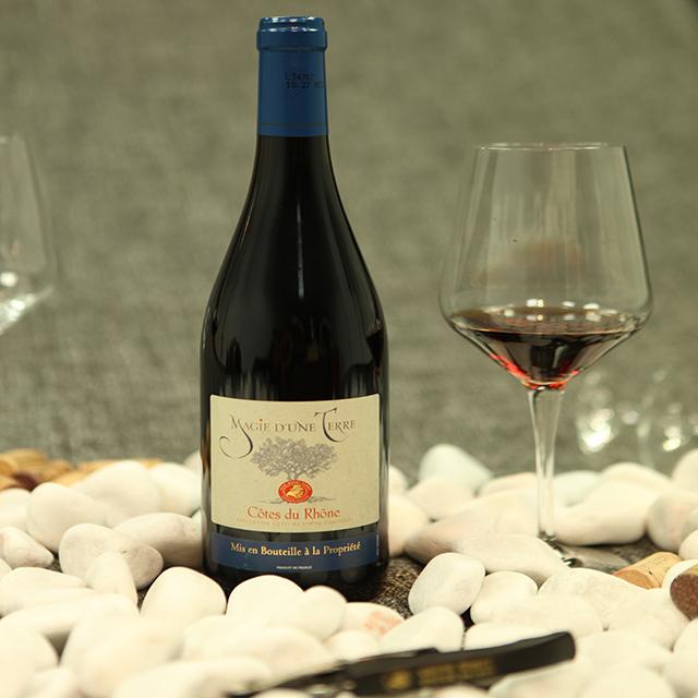 法國羅納紅·夢幻樹干紅葡萄酒 Cuvée Magie d'une Terre