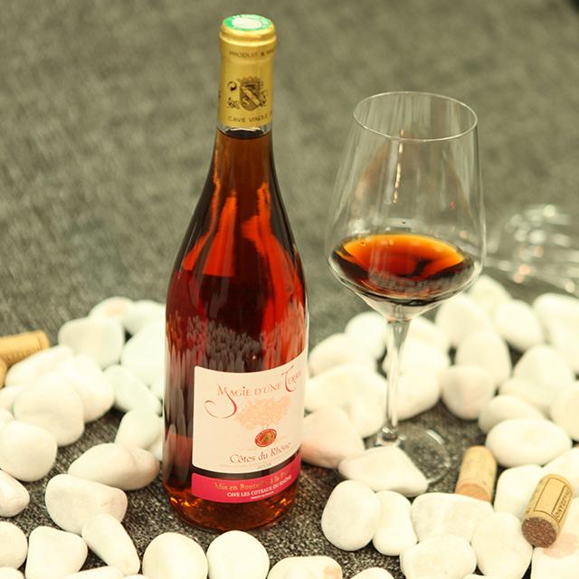 法国罗纳红·梦幻树桃红葡萄酒 Cuvée Magie d'une Terre