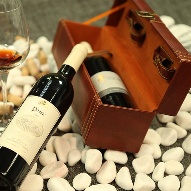 法国罗纳红·普爱诗红葡萄酒  Poésie