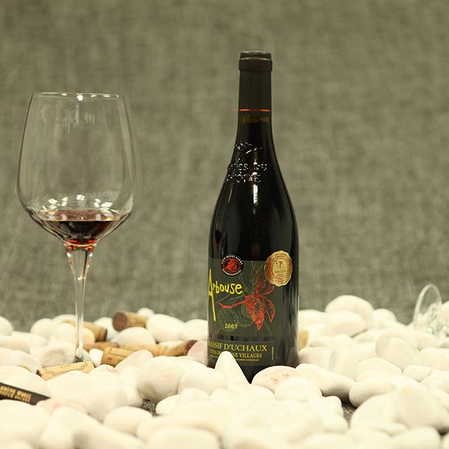 羅納紅·一品梅村莊級紅葡萄酒  Arbousier·C?tes du Rh?ne Village